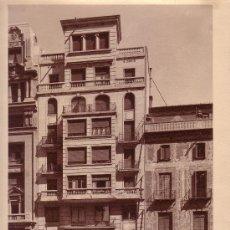 Fotografía antigua: BARCELONA, VIA LAIETANA. 29 X 23 CM. FOTO: MAS, BARCELONA.. Lote 12164722