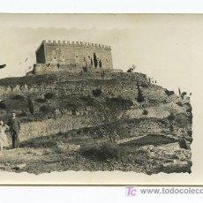 Fotografía antigua: CASTILLO DE BALSARENY. BAGES, BARCELONA. PRECIOSO CASTILLO. EXCURSIONISTAS. SEPTIEMBRE DE 1933. Lote 16331520