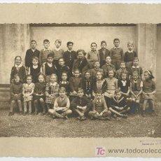 Fotografía antigua: COLEGIO MIXTO. F: FOTO ESTUDIO ALEMAN. R. BLASKE. BARCELONA. CIRCA 1935. Lote 25953311