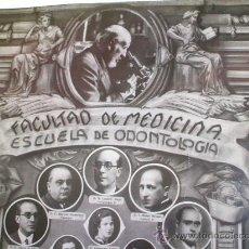 Fotografía antigua: FACULTAD DE MEDICINA - SANTIAGO RAMÓN Y CAJAL - MADRID 1936 - . Lote 26285608