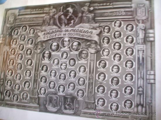 Fotografía antigua: FACULTAD DE MEDICINA - SANTIAGO RAMÓN Y CAJAL - Madrid 1936 - - Foto 2 - 26285608