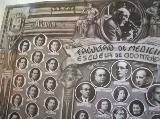 Fotografía antigua: FACULTAD DE MEDICINA - SANTIAGO RAMÓN Y CAJAL - Madrid 1936 - - Foto 5 - 26285608