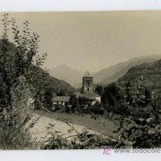 Fotografía antigua: RIBERA DEL CARDÓS. PALLARS. LÉRIDA. PRECIOSA FOTO DEL PUEBLO. CIRCA 1960. Lote 22848993