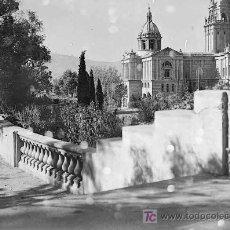 Fotografía antigua: MONTJUIC. PALACIO NACIONAL. PARQUE. BARCELONA. CIRCA 1930. Lote 13687178