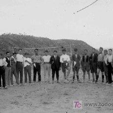 Fotografía antigua: FUTBOL. FANTÁSTICOS EQUIPOS DE FUTBOL. PORTERIA. TERRA ALTA. CIRCA 1925. Lote 18459678