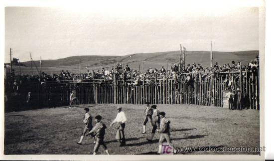 FOTOGRAFIA LOS BARRIOS (CADIZ) PLAZA DE TOROS AÑO 1925 (Fotografía Antigua - Gelatinobromuro)