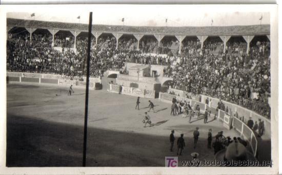 FOTOGRAFIA DE LA LINEA (CADIZ) PLAZA DE TOROS ABRIL 1925 (Fotografía Antigua - Gelatinobromuro)