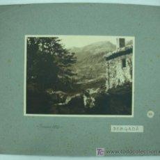 Fotografía antigua: FOTOGRAFÍA. BERGADÀ. 1927. 17 X 23 CM. . Lote 16225769