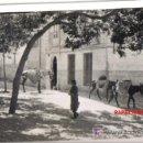 Fotografía antigua: TOLEDO, FOTOGRAFIA VISTA PARCIAL DE UNA PLAZA Y ACEMILAS.. Lote 26299271