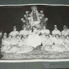 Fotografía antigua: ANTIGUO ALBUM DE FOTOGRAFIAS DE ALCACER - ALCASSER - VALENCIA - 1957, CORONACION DE LA VIRGEN DEL CA. Lote 26811639