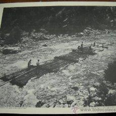Fotografía antigua: CONFERENCIANTE ESCOLAR . EN EL VALLE DEL RONCAL . FOT. MARQUES DE SANTA MARIA DE VILLAR . 60X52. Lote 18412975
