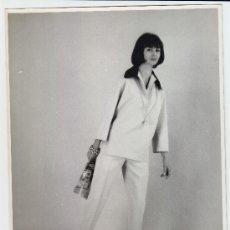Fotografía antigua: MODA, MODELO PARA VOGUE, 1960. 18X24 CM. Lote 18960086