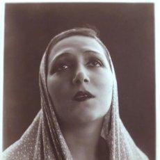 Fotografía antigua: EUGENIA ZUFFOLI, ACTRIZ, 1930'S. 17 X 23,5 CM.. Lote 19572937