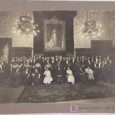 Fotografía antigua: BARCELONA, GRUPO POR IDENTIFICAR. FOTOGRAFÍA DE MERLETTI, BARCLEONA. 1915'S.. Lote 19690147