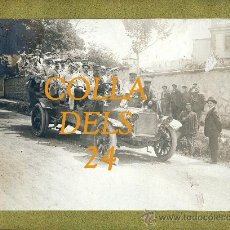 Fotografía antigua: AUTOMOVILISMO. - COLLA DELS 24. Lote 23601385