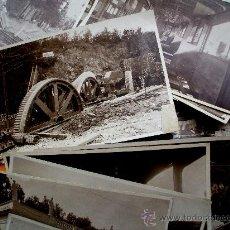 Fotografía antigua: BARCELONA - FUNICULAR MONTJUICH - 1928 - 30 FOTOGRAFIAS. Lote 24814805