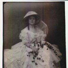 Fotografía antigua: CONCHA TORRES, ACTRIZ.1920'S. FOTO CALVACHE, MADRID, 18 X 24 CM.. Lote 20462455