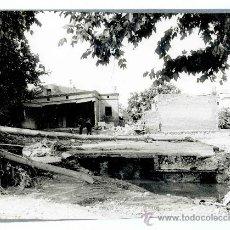 Fotografía antigua: MONTCADA I REIXAC. INUNDACIONES DE 1963. ESPECTACULAR FOTO DE CASAS DERRUMBADAS.. Lote 27465640