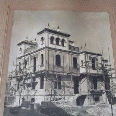 Fotografía antigua: ANTIGUA FOTO FECHADA EN 1921, FOTOGRAFO PEREZ ROMERO , SEVILLA.. Lote 26670591