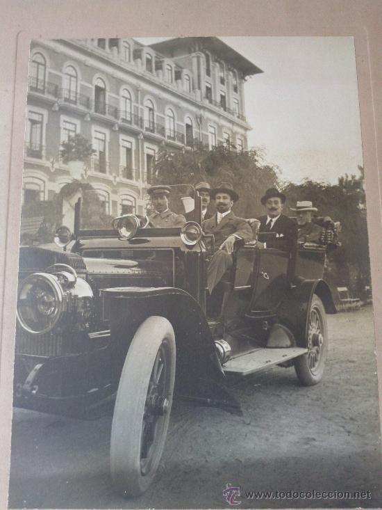 FOTOGRAFIA DEL AÑO 1913 HOTEL VIDAGO PORTUGAL IMAGEN AUGUSTUS MORGAN FAMILIA OSBORNE. (Fotografía Antigua - Gelatinobromuro)