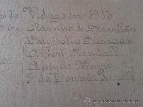 Fotografía antigua: Fotografia del año 1913 Hotel Vidago Portugal imagen Augustus Morgan familia Osborne. - Foto 5 - 26670558