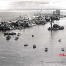 Fotografía antigua: MAGNIFICA Y ANTIGUA FOTOGRAFIA ORIGINAL DE BURELA (LUGO) . Lote 27212616