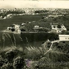 Fotografía antigua: ANTIGUA FOTOGRAFIA. MAHON. MENORCA. POSTAL 1957. Lote 25394179