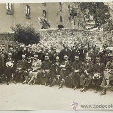 Fotografía antigua: RETRATO DE GRUPO. FOTO: GASPAR SEGARRA TORRENTS, 1930'S. 18X24 CM. Lote 23588037