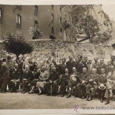 Fotografía antigua: RETRATO DE GRUPO. FOTO: GASPAR SEGARRA TORRENTS, 1930'S. 18X24 CM. Lote 23588047