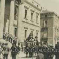 Fotografía antigua: CONGRESO DE LOS DIPUTADOS. CARROZA. ACTO OFICIAL Y ESPECTACIÓN. C: 1925. Lote 26157011