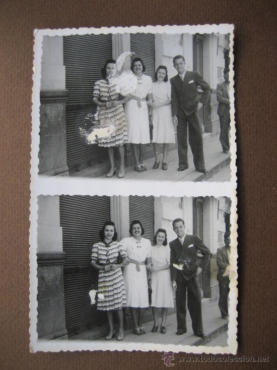 BARCELONA. FOTO FILMS ALONSO. GRUPO FOTOGRÁFICO CALLEJERO. AÑOS 40 (Fotografía Antigua - Gelatinobromuro)