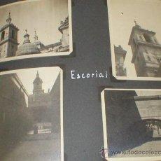 Fotografía antigua: SAN LORENZO DE EL ESCORIAL MADRID LOTE 10 FOTOS 1934 REALIZADAS POR TURISTA FRANCÉS . Lote 26825275