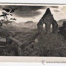 Fotografía antigua: IGLESIA DE PANDIELLO. CABRALES LLANES. ASTURIAS. Lote 26857077