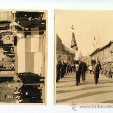 Fotografía antigua: CELEBRACION DESFILE DE LA HERMANDAD DE COMBATIENTES. OVIEDO ASTURIAS. FOTO TOSAL. AÑOS 50 . Lote 27646924
