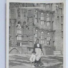 Fotografía antigua: LA SAGRADA FAMILIA, BARCELONA, 1920'S 12,5X7,5 CM.. Lote 27708166
