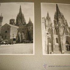 Fotografía antigua: BARCELONA LOTE 16 FOTOGRAFIAS AÑOS 40 . Lote 28569295
