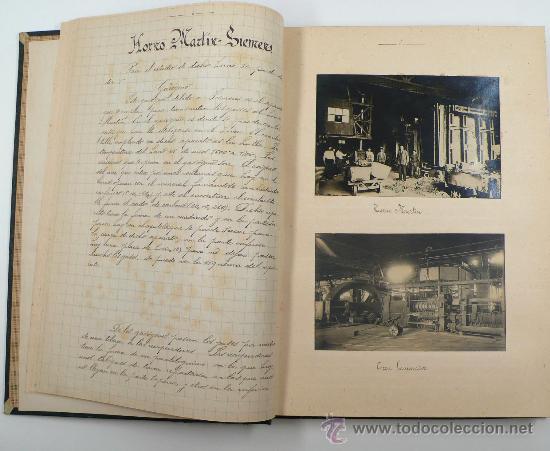 Fotografía antigua: Vistas de fábricas de Barcelona, 1922. Cervezas Damm, harinas la esperanza, refinerias,etc. Ver - Foto 7 - 28843030