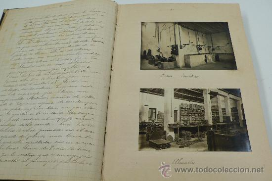 Fotografía antigua: Vistas de fábricas de Barcelona, 1922. Cervezas Damm, harinas la esperanza, refinerias,etc. Ver - Foto 19 - 28843030