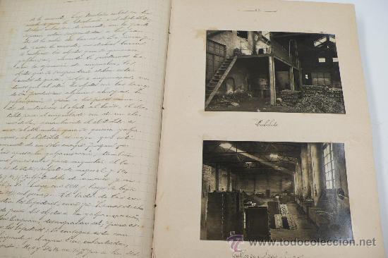Fotografía antigua: Vistas de fábricas de Barcelona, 1922. Cervezas Damm, harinas la esperanza, refinerias,etc. Ver - Foto 20 - 28843030