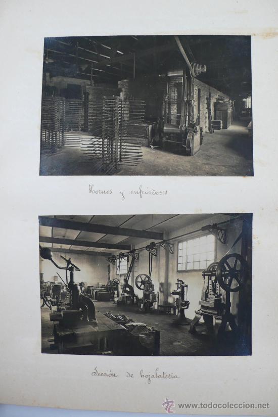 Fotografía antigua: Vistas de fábricas de Barcelona, 1922. Cervezas Damm, harinas la esperanza, refinerias,etc. Ver - Foto 24 - 28843030