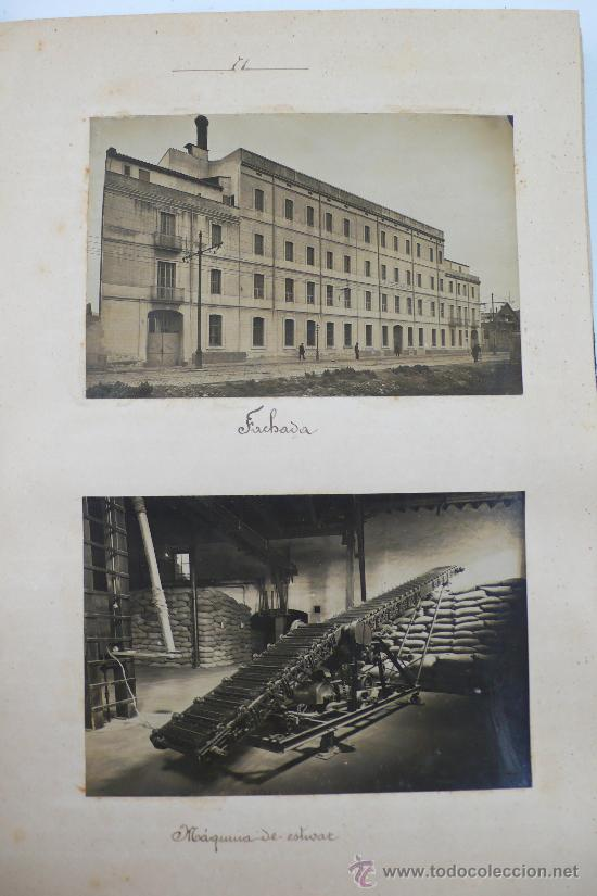 Fotografía antigua: Vistas de fábricas de Barcelona, 1922. Cervezas Damm, harinas la esperanza, refinerias,etc. Ver - Foto 28 - 28843030