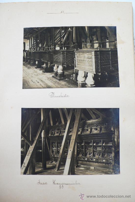 Fotografía antigua: Vistas de fábricas de Barcelona, 1922. Cervezas Damm, harinas la esperanza, refinerias,etc. Ver - Foto 31 - 28843030