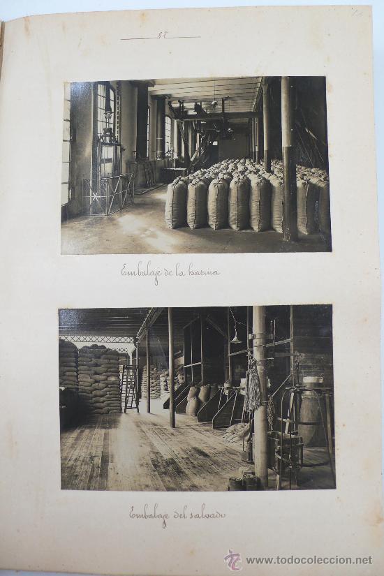Fotografía antigua: Vistas de fábricas de Barcelona, 1922. Cervezas Damm, harinas la esperanza, refinerias,etc. Ver - Foto 32 - 28843030