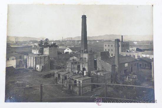 Fotografía antigua: Vistas de fábricas de Barcelona, 1922. Cervezas Damm, harinas la esperanza, refinerias,etc. Ver - Foto 34 - 28843030