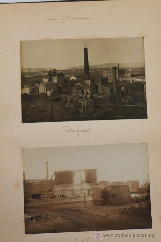 Fotografía antigua: Vistas de fábricas de Barcelona, 1922. Cervezas Damm, harinas la esperanza, refinerias,etc. Ver - Foto 35 - 28843030