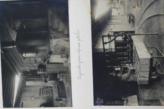 Fotografía antigua: Vistas de fábricas de Barcelona, 1922. Cervezas Damm, harinas la esperanza, refinerias,etc. Ver - Foto 36 - 28843030