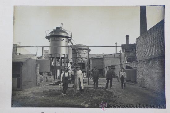 Fotografía antigua: Vistas de fábricas de Barcelona, 1922. Cervezas Damm, harinas la esperanza, refinerias,etc. Ver - Foto 37 - 28843030
