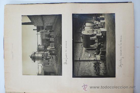 Fotografía antigua: Vistas de fábricas de Barcelona, 1922. Cervezas Damm, harinas la esperanza, refinerias,etc. Ver - Foto 38 - 28843030