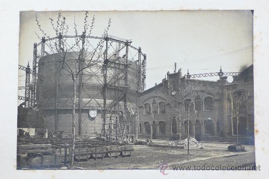 Fotografía antigua: Vistas de fábricas de Barcelona, 1922. Cervezas Damm, harinas la esperanza, refinerias,etc. Ver - Foto 40 - 28843030