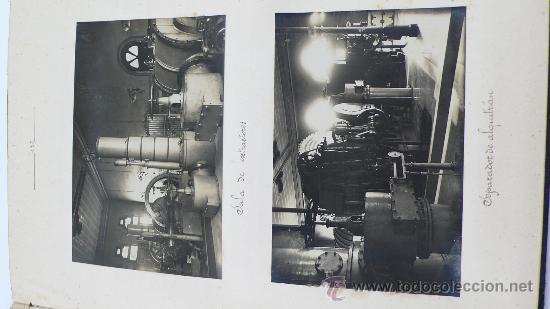 Fotografía antigua: Vistas de fábricas de Barcelona, 1922. Cervezas Damm, harinas la esperanza, refinerias,etc. Ver - Foto 43 - 28843030